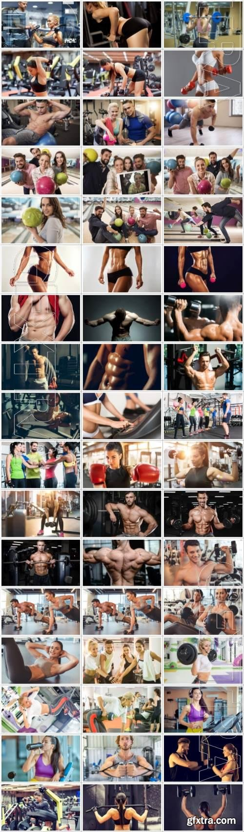 Sports large collection of stock photos