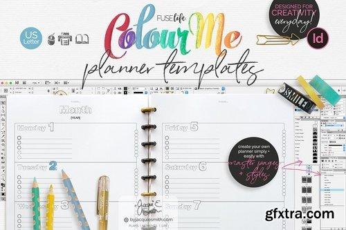 CM - US Letter ColourMe Planner Templates 1957912