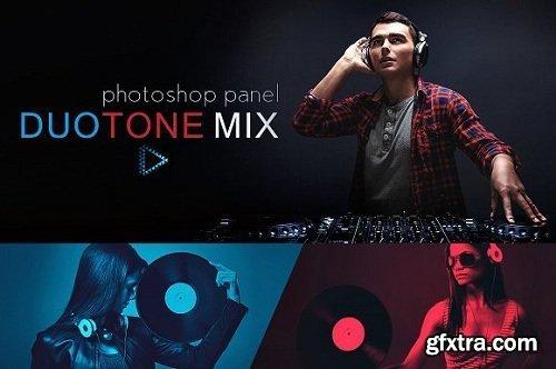 DuoTone Mix Panel for Adobe Photoshop