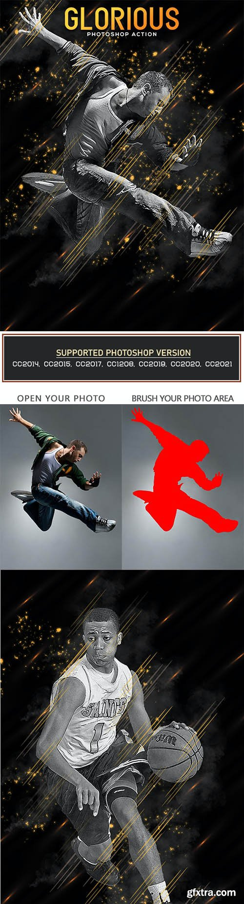 GraphicRiver - Glorious Photoshop Action 32965172