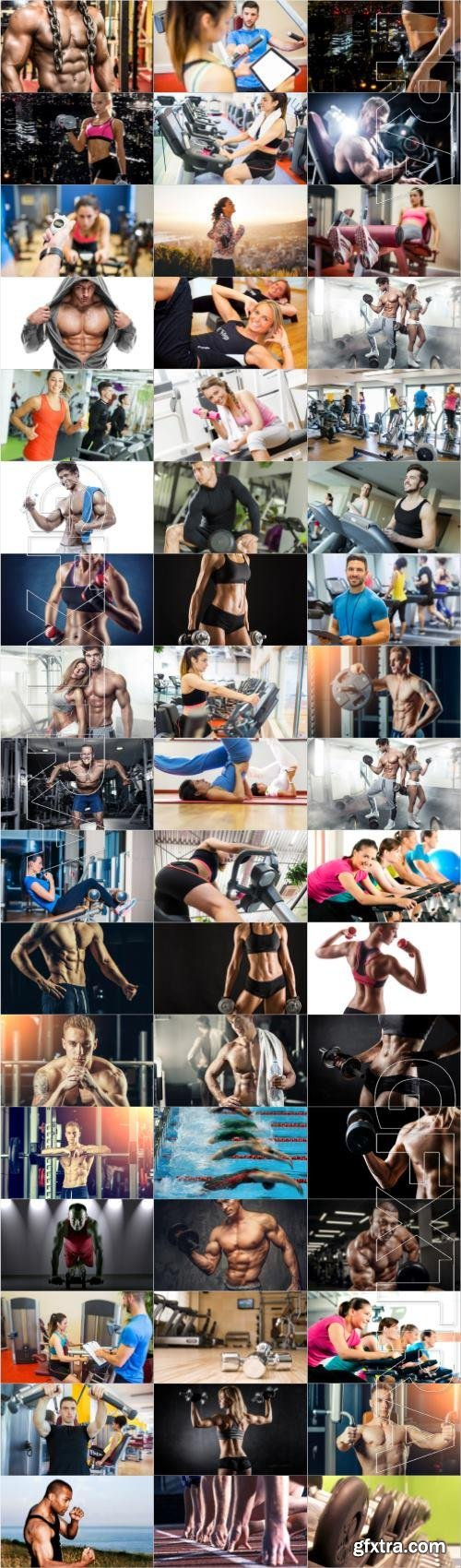 Sports and people large collection of stock photos