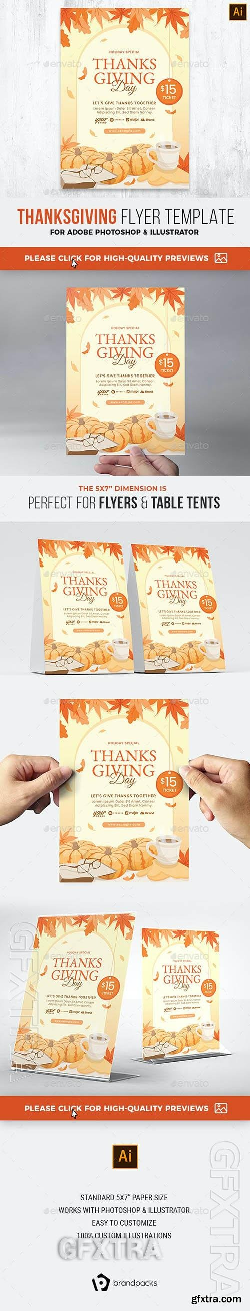 Thanksgiving Flyer 29319115