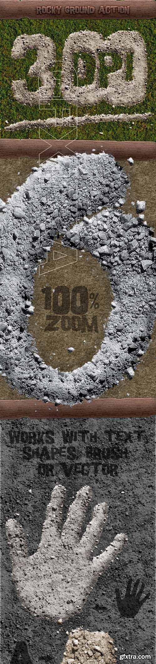 GraphicRiver - Rocky Ground Action - 300 DPI 19812139