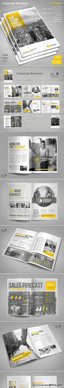 GraphicRiver - Corporate Brochure 19744355