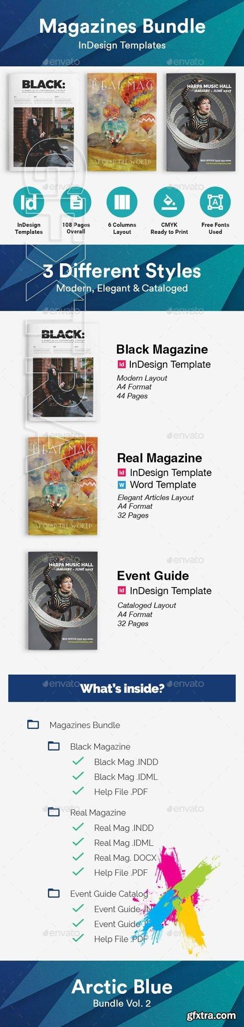 GraphicRiver - Magazines Bundle 19704973