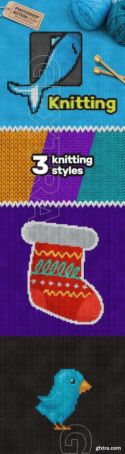 GraphicRiver - Knitting CS3+ Photoshop Action 18948973