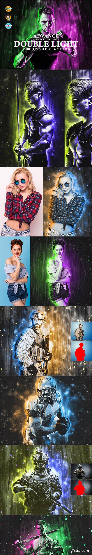 CreativeMarket - Double Light Photoshop Action 6418575