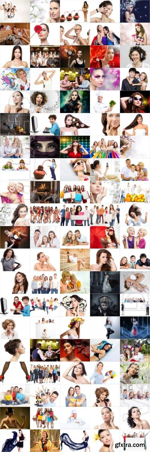 People large selection stock photos vol 5