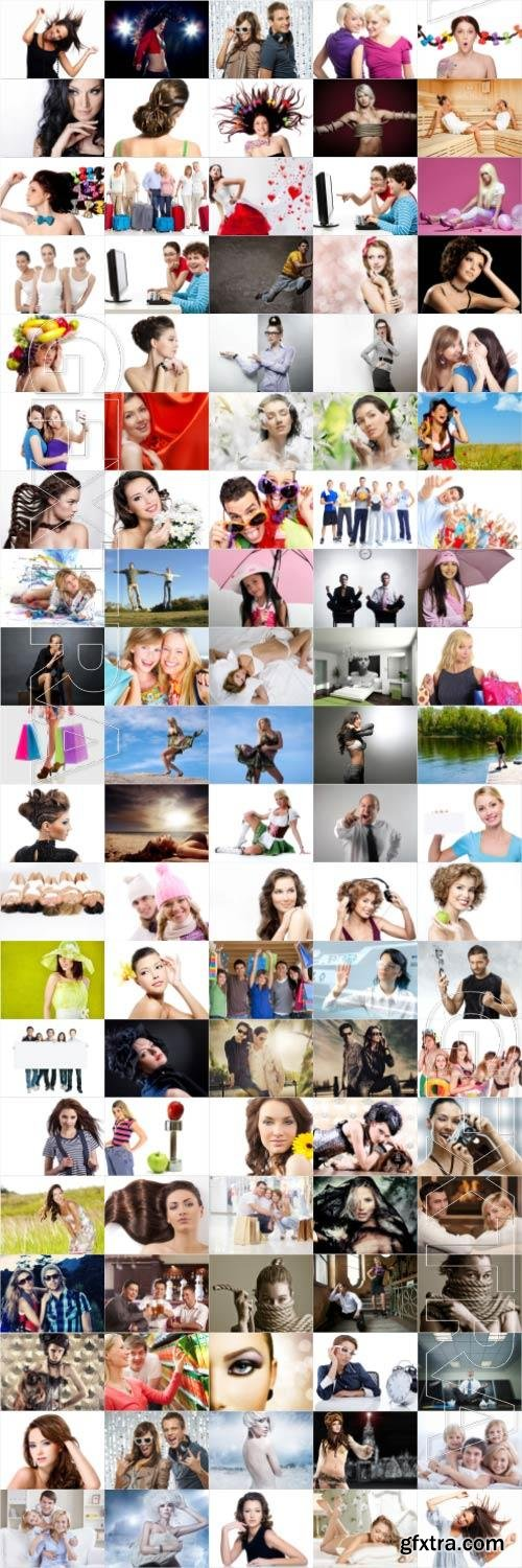 People large selection stock photos vol 4