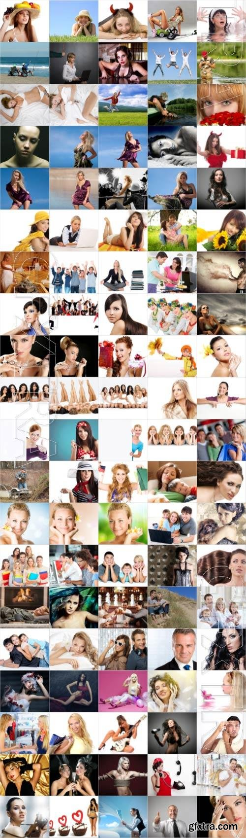 People large selection stock photos
