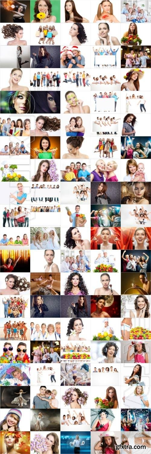 People large selection stock photos vol 6