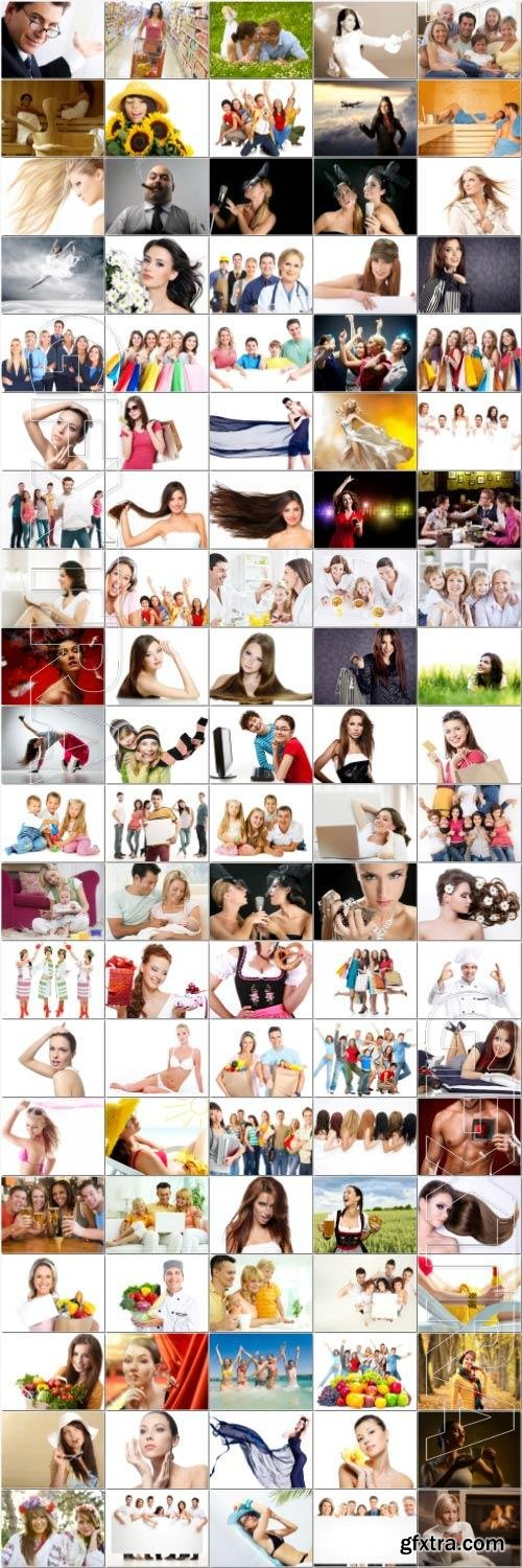People large selection stock photos vol 2