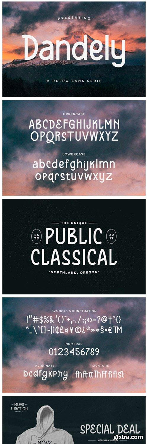 Dandely Font