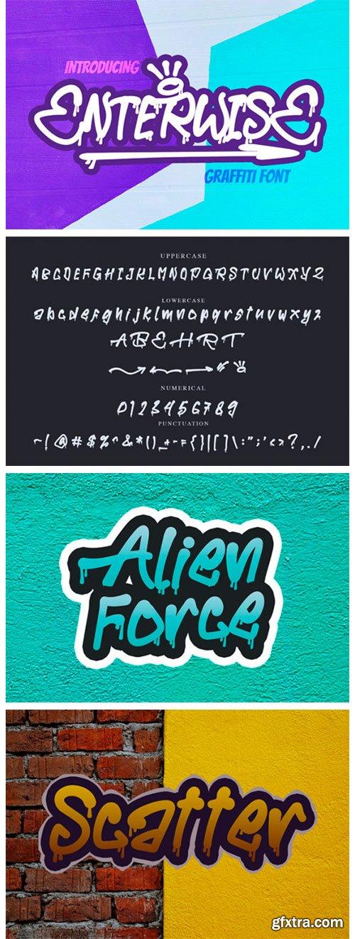 Enterwisse Font