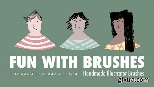 Fun With Brushes: Create Handmade Illustrator Brushes