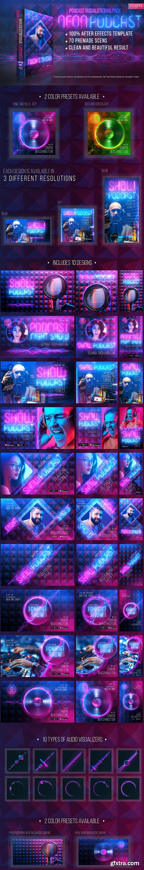 Videohive - Neon Podcast