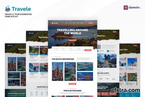 ThemeForest - Travele v1.0.2 - Travel & Tour Agency Elementor Template Kit - 33678617