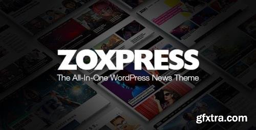 ThemeForest - ZoxPress v2.07.0 - The All-In-One WordPress News Theme - 25586170