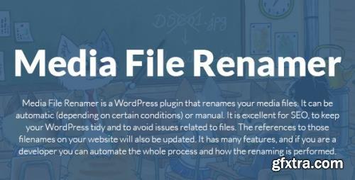 MeowApps - Media File Renamer Pro v5.2.9 - WordPress Plugin - NULLED
