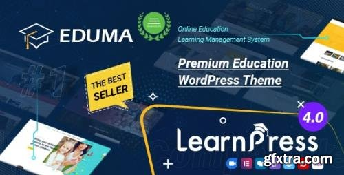 ThemeForest - Education WordPress Theme   Eduma v4.5.4 - 14058034 - NULLED