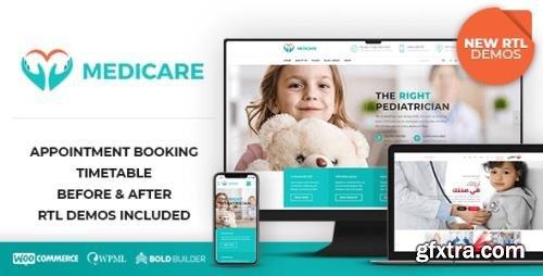 ThemeForest - Medicare v1.8.7 - Doctor, Medical & Healthcare - 14444927