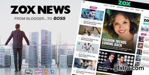 ThemeForest - Zox News v3.11.1 - Professional WordPress News & Magazine Theme - 20381541 - NULLED