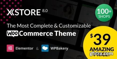 ThemeForest - XStore v8.0.7 - Multipurpose WooCommerce Theme & WordPress - 15780546 - NULLED