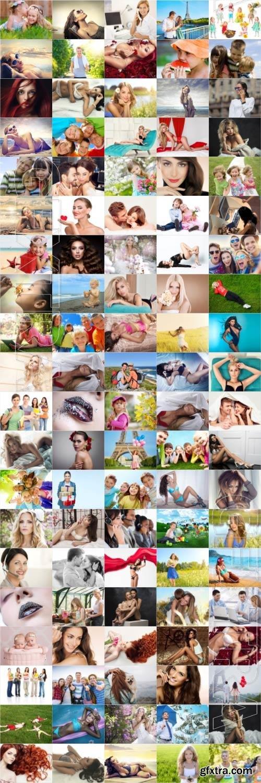 People, men, women, children, stock photo bundle vol 1