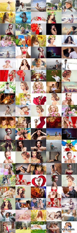 People, men, women, children, stock photo bundle vol 5