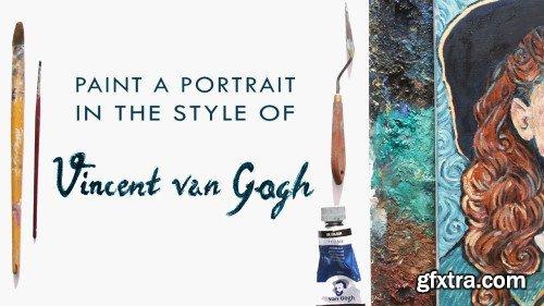Paint a Portrait in the Style of Vincent van Gogh