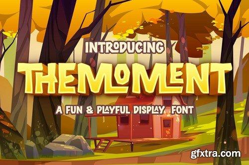 Themoment - Playful Display Font
