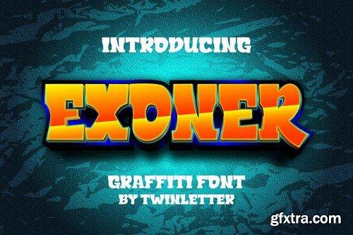 Exoner Font