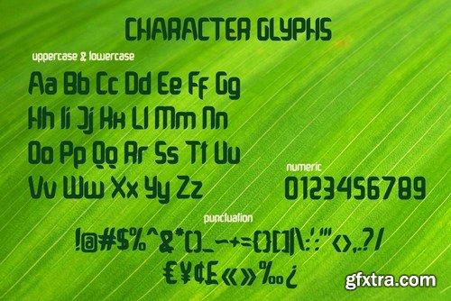 Grindleaf Font