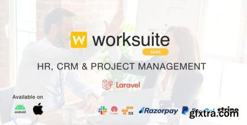 CodeCanyon - Worksuite Saas v3.9.8 - Project Management System - 23263417 - NULLED