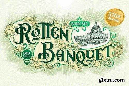 Rotten Banquet Font