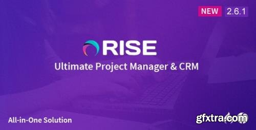 CodeCanyon - RISE v2.9 - Ultimate Project Manager - 15455641 - NULLED