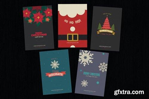 Simple Christmas Invitation Cards