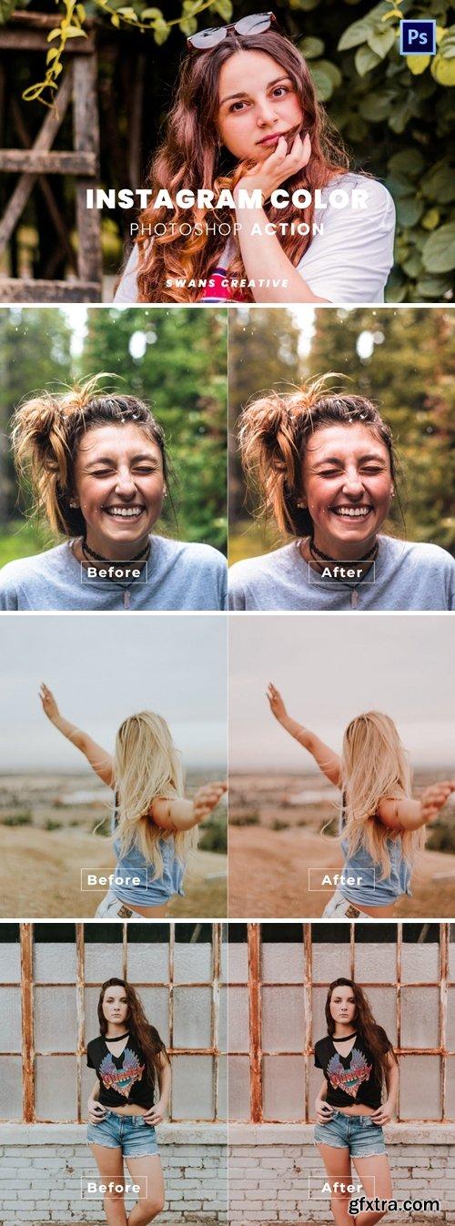 Instagram Color Photoshop Action