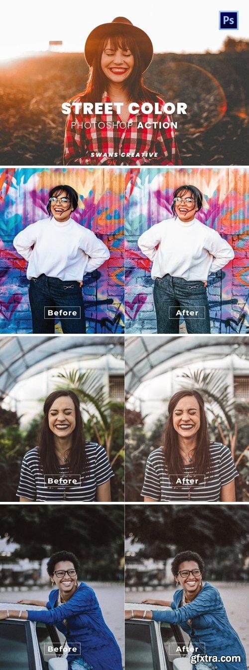 Street Color Photoshop Action