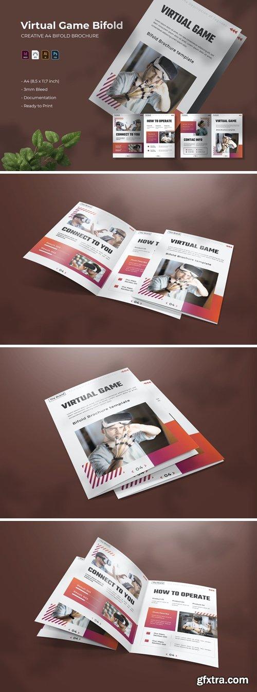 Virtual Game | Bifold Brochure