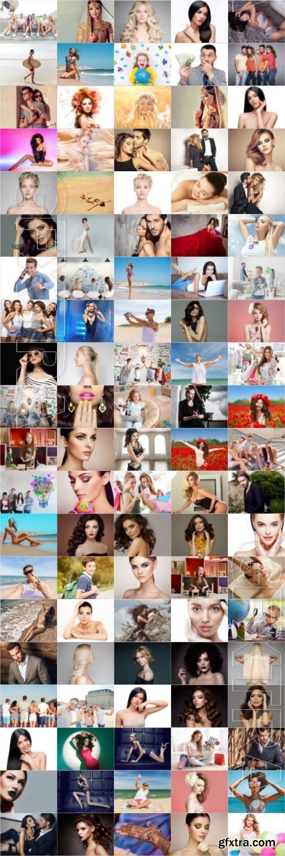 People, men, women, children, stock photo bundle vol 10
