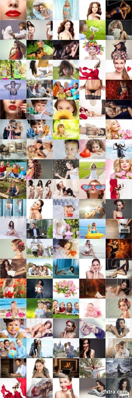 People, men, women, children, stock photo bundle vol 11