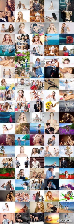 People, men, women, children, stock photo bundle vol 9