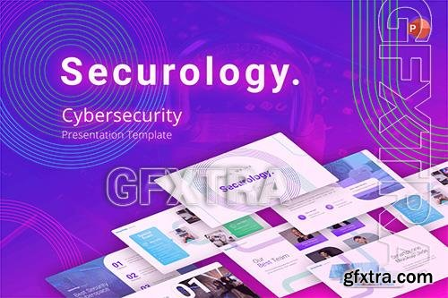 Securology Cybersecurity PowerPoint Template QY9N4DX