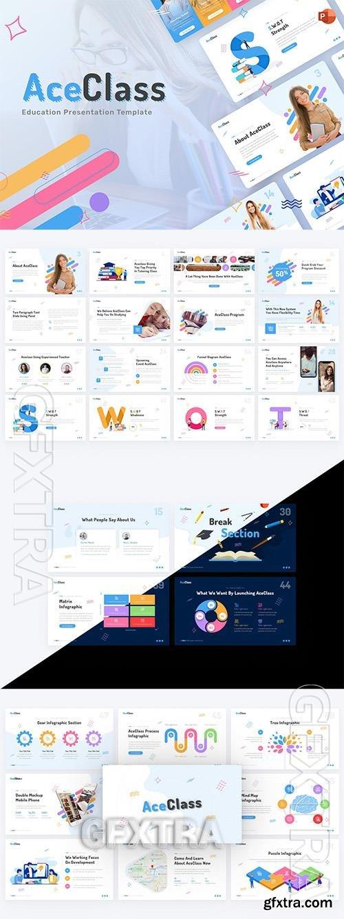 AceClass Education PowerPoint Template D2A7SFZ
