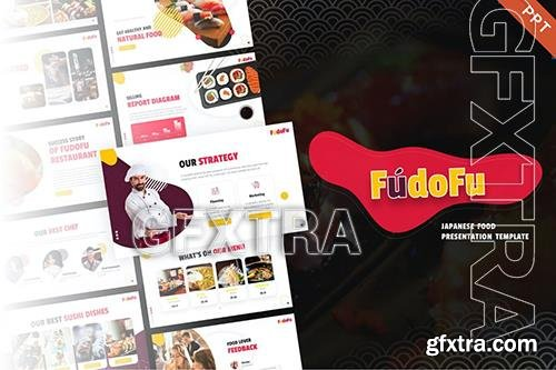 Fudofu Creative Animated Food PowerPoint Template 9VJ5P4N