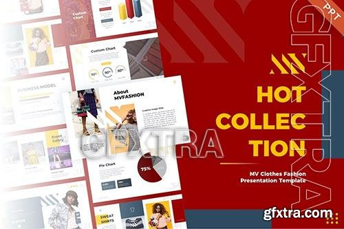 MV Clothes Fashion PowerPoint Template 3S3WDCC