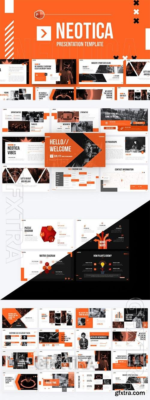 Neotica Multipurpose Modern PowerPoint Template WKTHFA7
