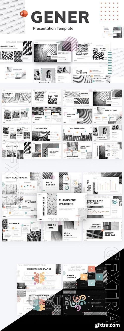 Gener Multipurpose Creative PowerPoint Template ZNQKGWW