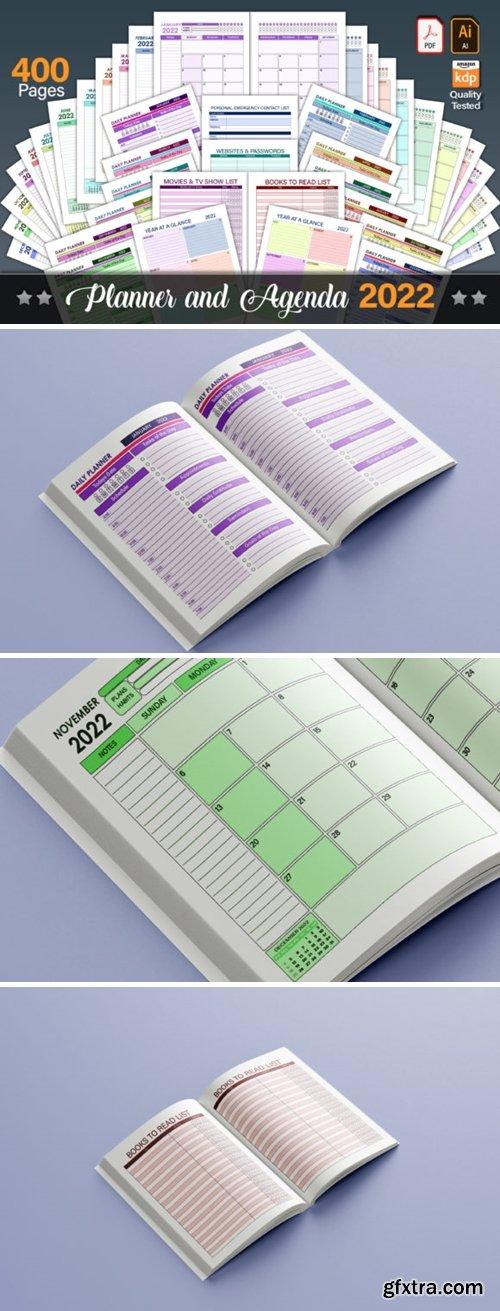 Planner & Agenda 2022 - Editable 16248604
